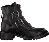 Schwarze Omoda Biker Boots P5457Omo