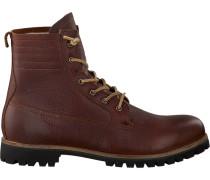 Braune Blackstone Ankle Boots Im12