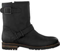 Schwarze Omoda Ankle Boots 80074