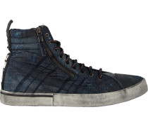 Schwarze Diesel Sneaker D-Velows MID Lace