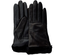 Schwarze Handschuhe Classic Leather Smart Glove