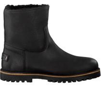 Schwarze Shabbies Ankle Boots 181020089