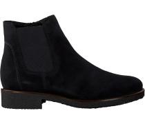 Blaue Gabor Chelsea Boots 701