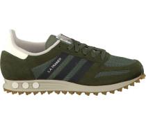 Grüne Adidas Sneaker LA Trainer OG Heren