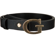 Schwarze Guess Gürtel Uptown Chic Adjustable Belt