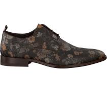 Braune Rehab Business Schuhe Greg Flower