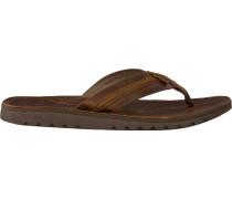 brown Reef shoe Voyage LUX