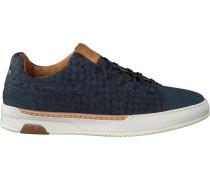 Blaue Rehab Sneaker Thomas II Lizard
