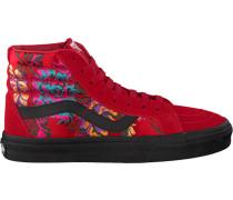 Rote Vans Sneaker SK8 HI Reissue WMN