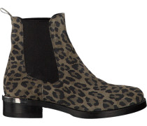 Braune Via Vai Chelsea Boots 4902054