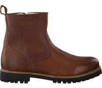 Braune Blackstone Ankle Boots Om63