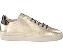 Goldfarbene Nubikk Sneaker Yeye Nintu