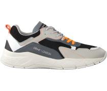 Schwarze Crime London Sneaker Low Komrad 2.0