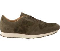 Grüne UGG Sneaker Trigo Suede Camo