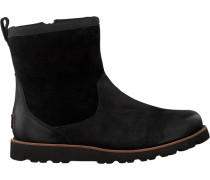 Schwarze UGG Ankle Boots Hendren
