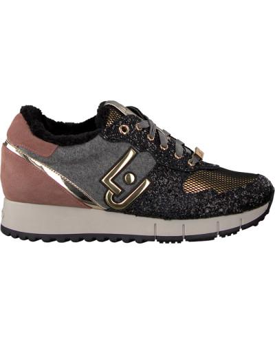 Schwarze Liu Jo Sneaker Gigi 02