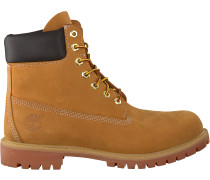 Camelfarbene Timberland Ankle Boots 6in Premium Ftb