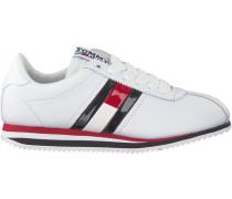 Weiße Sneaker Tommy Jeans Retro Flag Sneaker