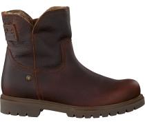 Braune Panama Jack Ankle Boots Brescia B2