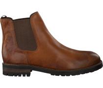 Cognacfarbene Omoda Chelsea Boots 80076