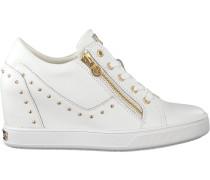 Weiße Guess Sneaker Flnna1 Lea12