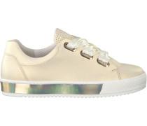 Goldfarbene Gabor Sneaker 505