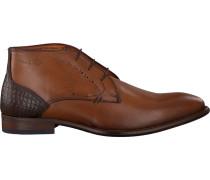 Cognacfarbene Van Lier Business Schuhe 1859104