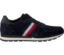 Blue Tommy Hilfiger shoe Luxery Suede Runner