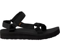 Black Teva shoe Midform Universal