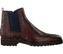 Cognacfarbene Omoda Chelsea Boots 36597