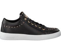Schwarze Guess Sneaker Flgna1 Lea12