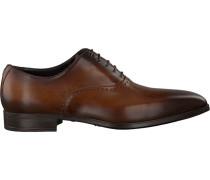 Cognacfarbene Giorgio Business Schuhe He50227