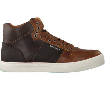 Braune Bjorn Borg Sneaker Montana MID Pull M