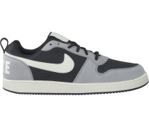 Schwarze Nike Sneaker Court Borough LOW Prem