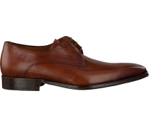 Cognacfarbene Business Schuhe 14248