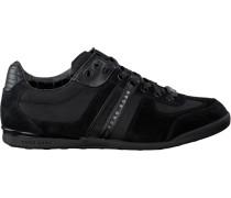 Schwarze Hugo Boss Sneaker Akeen