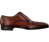 Cognacfarbene Magnanni Business Schuhe 12623