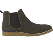 Grüne Greve Chelsea Boots Ms2861
