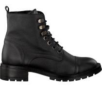 Schwarze Omoda Biker Boots 158 Sole 456