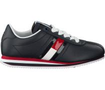 Blaue Sneaker Tommy Jeans Retro Flag Sneaker