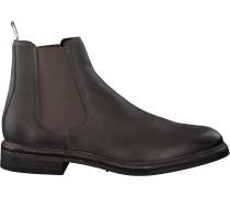 Graue Goosecraft Chelsea Boots Chet Chelsea