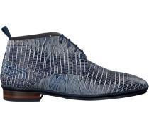 Blaue Floris Van Bommel Business Schuhe 10960