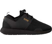 Schwarze Hugo Boss Sneaker Titanium Runn Act