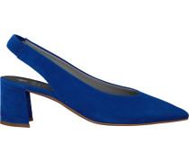 Blaue Maripe Pumps 26653