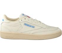 Beige Reebok Sneaker Club C 85