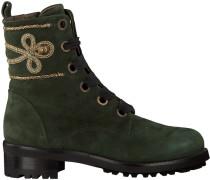 Grüne Maripe Schnürstiefel 25712