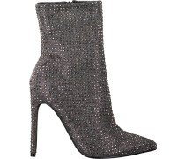 Graue Steve Madden Ankle Boots Wifey Ankleboot