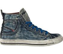 Blaue Diesel Sneaker Magnete Exposure Stripe