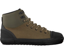 Grüne Armani Jeans Sneaker 935121