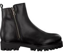Schwarze Roberto d'Angelo Ankle Boots Basco